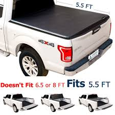 Leader Accessories TRI-FOLD 5.5' Tonneau Truck Bed Cover Fits For ...