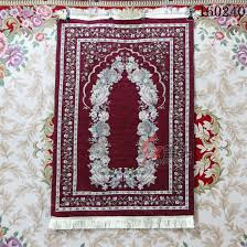 New Islamic Muslim Prayer Mat Blanket Salat Musallah Rug Tapis Carpet Tapete Banheiro Praying 70110cm In From Home Garden On