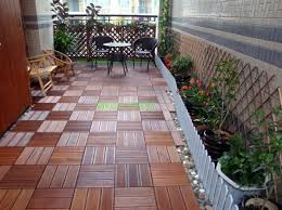 Terrace And Balcony Wood Tiles Ideas Other Floor Coverings Interior Design