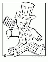 4th Of July Coloring Pages Summer Printables