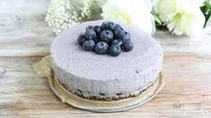 heidelbeer cheesecake gesund vegan mrs flury