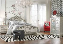 grace silver full 5 pc bedroom badcock home furniture more of