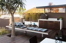 cuisine exterieure moderne aménagement extérieur une pièce extérieure par landart landscapes
