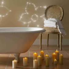 led sternenhimmel badezimmer urlaub zu hause