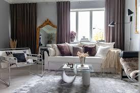 elegantes wohnzimmer mit femininer und bild kaufen