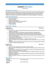 It Operations Manager Resume Sample Full Formidable Infrastructure Project Doc Senior Summary Executive Samples 1400