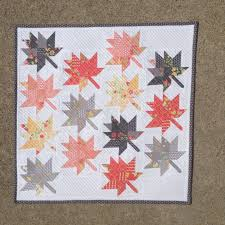 Maple Charm Mini Quilt Pattern – Coriander Quilts