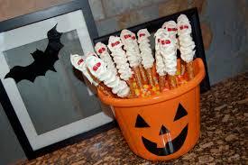 Halloween Pretzel Rod Treats by Pretzel Rods