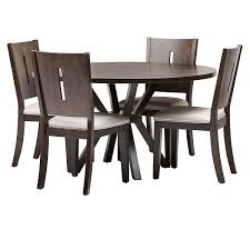 Sienna Dark Tone Round Table & 4 Wood Chairs | Dining Room ... Key Largo Ding Set Sienna Finish Wicker One Imports 48 Table With 4 Chairs Grand Masterpiece Royal Extendable Pedestal Room Ser02410130si Serengeti Bar Height Pub 3pc Metal Outdoor Ding Table Aged Bronze Aluimnum And Outdoor Pc Cushion Seating Round By Brownstone Fniture Retreat 2 Drawer Lamp 5pc Faux Marblecherry Brown Home Source