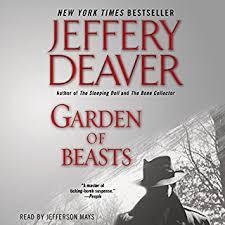 Garden Of Beasts Audiobook Cover Art