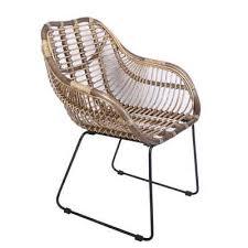 casa moro rattanstuhl rattan sessel madrid mit armlehne aus naturrattan handgeflochten vintage korb stuhl moderner korb sessel retro stuhl für