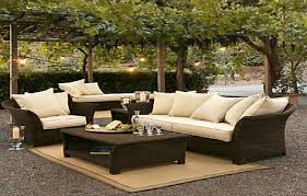 Inexpensive Patio Furniture Ideas by Wicker Patio Sets On Clearance Outdoorlivingdecor