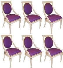 Set Of 6 John Widdicomb Dining Chairs
