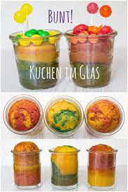 kuchen im glas ideen für kindergeburtstage