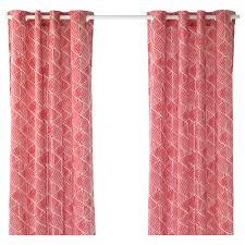 Light Pink Ruffle Blackout Curtains curtains living room u0026 bedroom curtains ikea