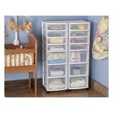Sterilite 2 Shelf Storage Cabinet 2 Pack by Sterilite 7 Drawer Storage Cart 2 Pack 28348002