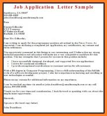 Awesome Sample Of Simple Application Letter For Job On Store Inside As A