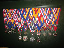 Ideas S Gymnastics Using A Shelf And Images About Ing Strophies Medal Display