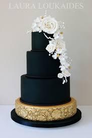 Best 25 Black wedding cakes ideas on Pinterest
