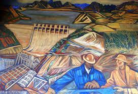 Jose Clemente Orozco Murales Palacio De Gobierno by Fragmento Del Mural U201cgente Y Paisaje De Michoacán U201d Alfredo Zalce