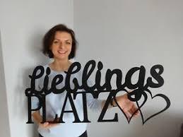 deko wandtattoos wandbilder schriftzug aus holz für die