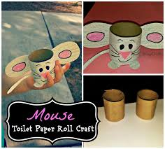 Easy Mouse Toilet Paper Roll Craft For Kids