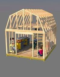 12x16 Gambrel Shed Kits by 12x16 Shed Plans Gable Design Roof Plan Shopping Lists And