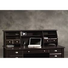 sauder shoal creek organizer desk hutch jamocha wood walmart com