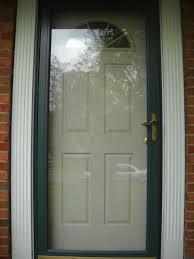 Therma Tru Entry Doors by Andersen Storm Door Thermatru Front