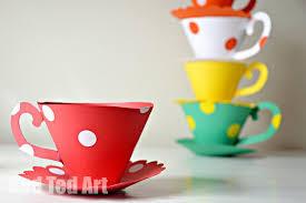 Paper Teacup Craft Printable