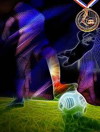 Posters Creative Football Game Poster Background Image