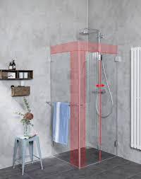 duschkabine nach maß in 7 tagen duschabtrennung maß glasdusche