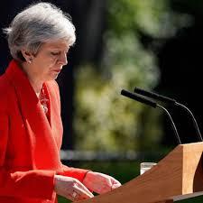 May Dimitirá 7 De Junio Y Abre La Sucesión En El Gobierno