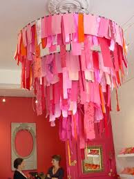 Paper Chandelier For Wedding Decor