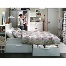 brimnes bed Ikea Small spaces big dreams