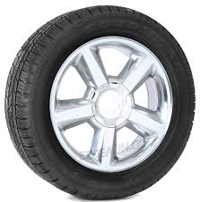 100 20 Inch Truck Tires Chevy Old Style LTZ Polished Wheels With Goodyear Eagle LS2