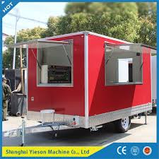 100 Mobile Pizza Truck China Commercial Catering Trailer China Food