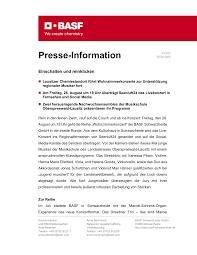 presse information