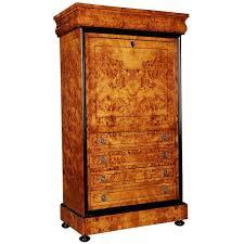 Birdseye Maple Veneer Dresser by 20th Century Secretaire With Maple Root Veneer In Biedermeier