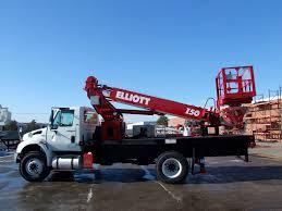 100 Truck Mounted Boom Lift Mounted Telescopic Boom Lift Hydraulic Max 1 656