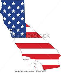 Map Flag California Stock Vector Hd Royalty Free 272673050 Rh Shutterstock Com State Art Bear