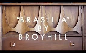 Broyhill Brasilia 9 Drawer Dresser by Brasilia