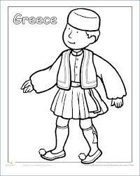 Clothes Coloring Pictures Boy And Girl With Winter Page Printable Preschool Sheets Animals That Start