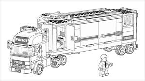 Gallery One Lego City Coloring Pages