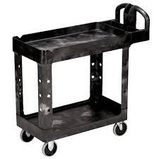 equipement bureau denis chariot rubbermaid pour 500 lbs 38144 00 fg450088blk