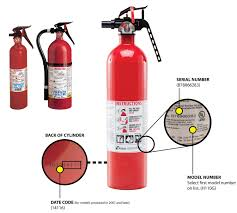 All Fire Extinguishers Are Labeled With A Letter And A Number What Does The Number Indicate
