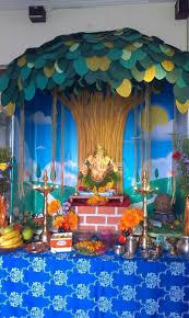 Varalakshmi Vratham Decoration Ideas Usa by 150 Best Ganapati Decoration Images On Pinterest Ganesha