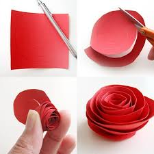 DIY Paper Flower Tutorial Step By Instructions How To Make Roses With Pictures
