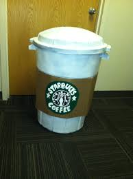 Here I Am In My Trash Can Starbucks Cup