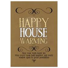 Happy Housewarming Wishes Card